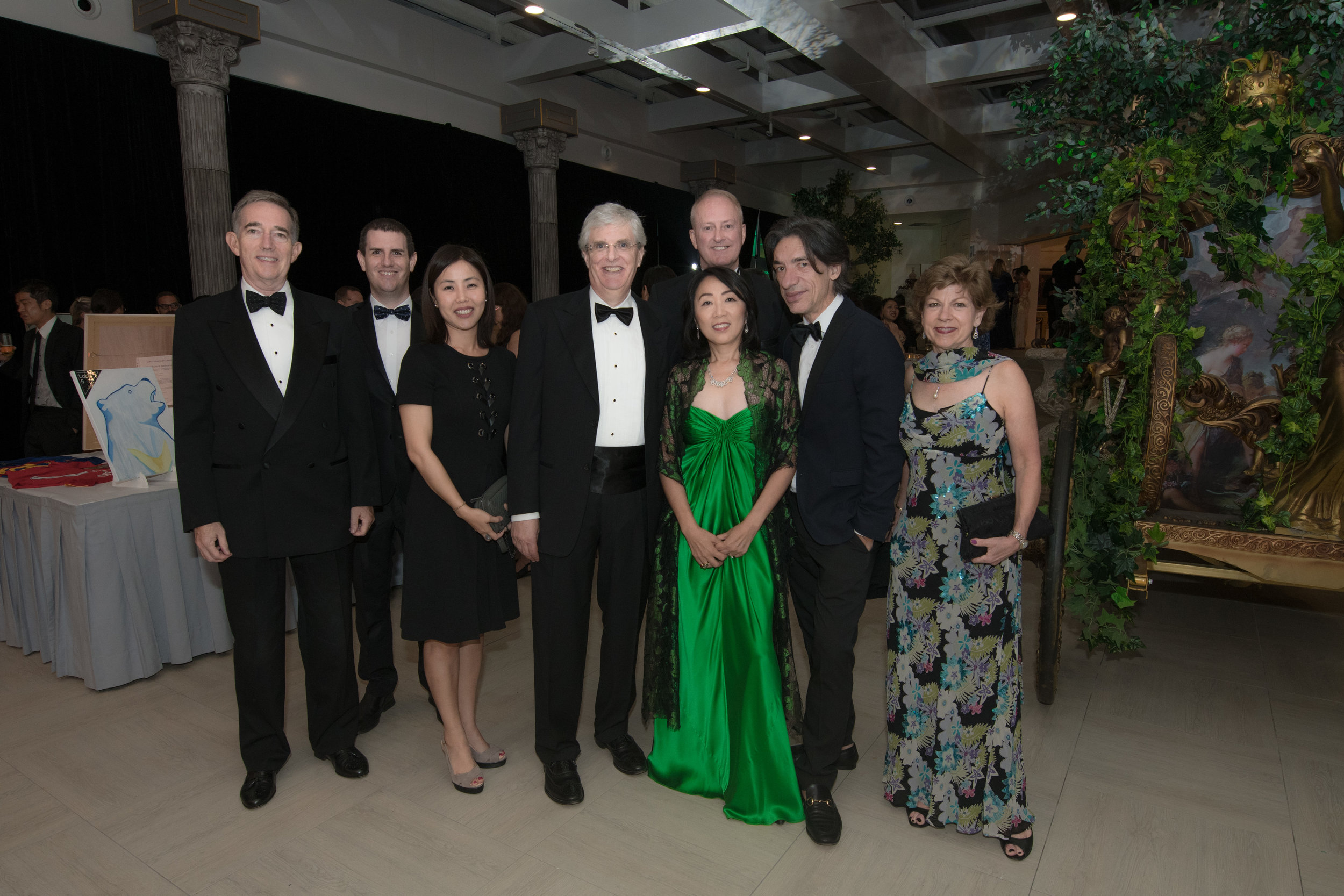 Ying Ying with friends at the gala.jpg