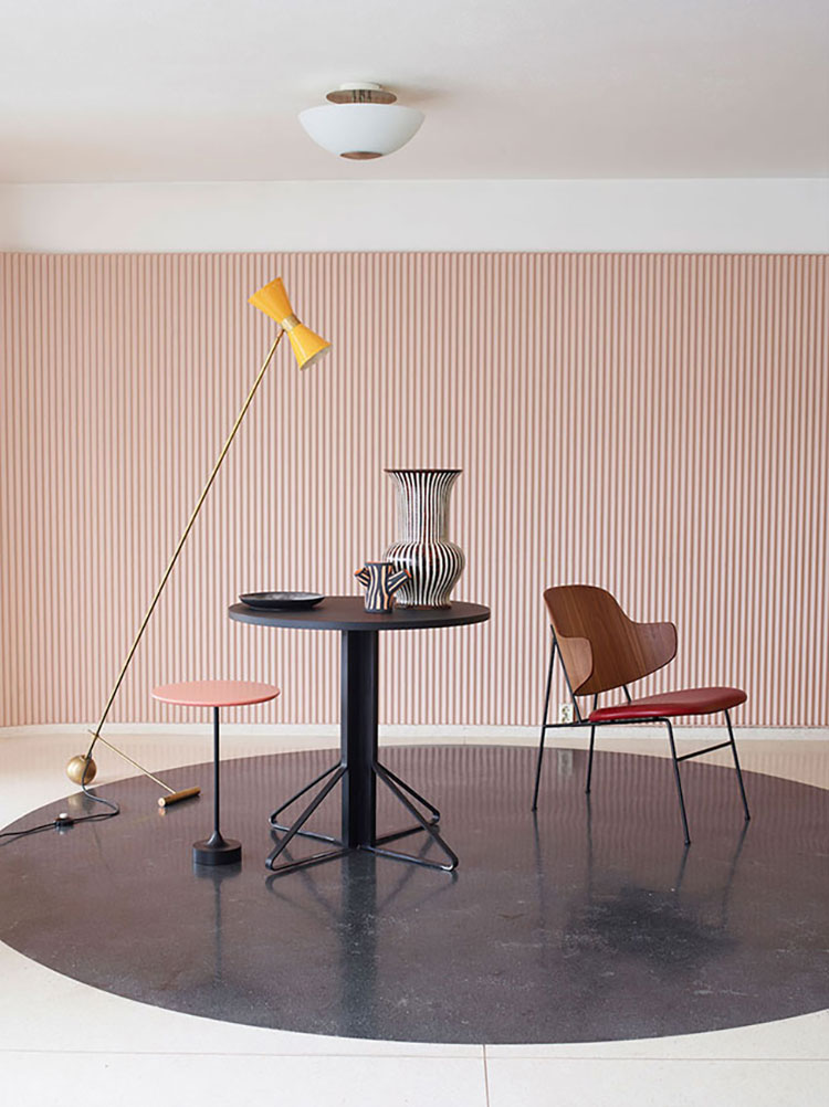 An Oslo based design studio Krakvik and D'Orazio use spheres to offset the rigid stripes in this styling concept.