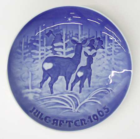 """Bing & Grohdahl """"Bringing Home the Tree"""" Appetizer Plate"""