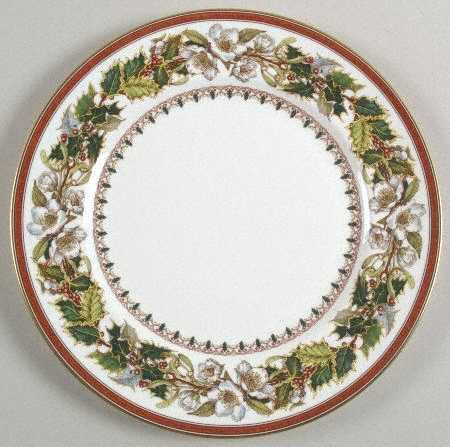 Spode Christmas Rose Dinner Plate
