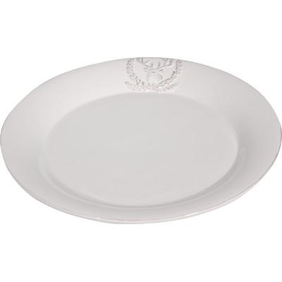 Three Posts Christmas Deer Dinner Plate
