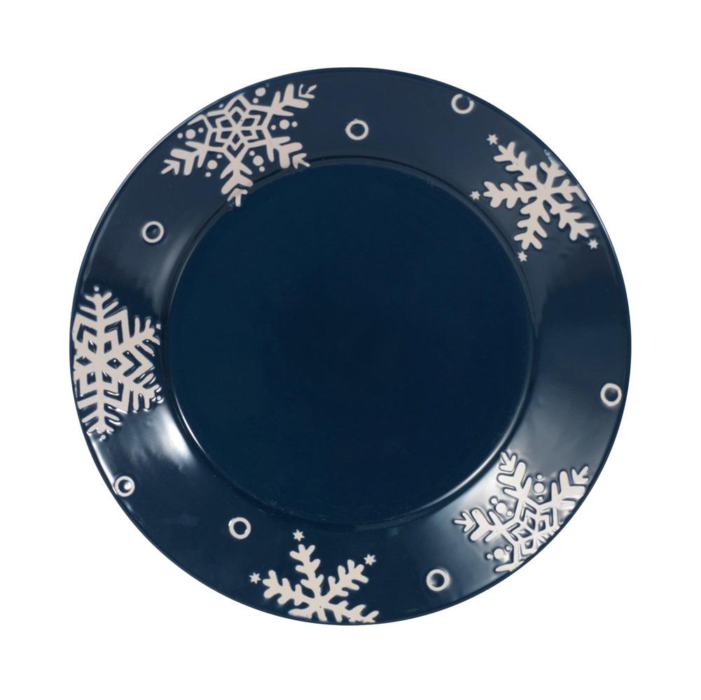Pfaltzgraff Snow Flurry Dinner Plate