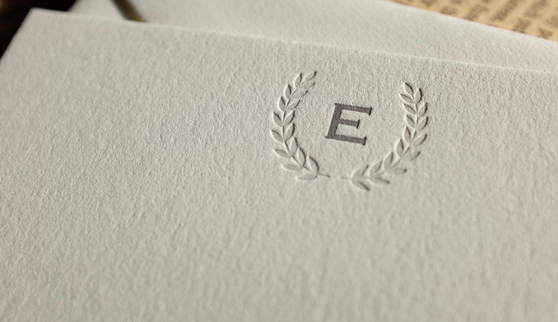 Hoban Press Imperial Letterpress Note Card