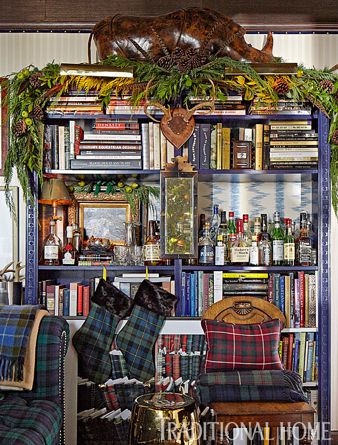 Traditional Home Tartan Plaid Extravaganza - Photo by John Merkl