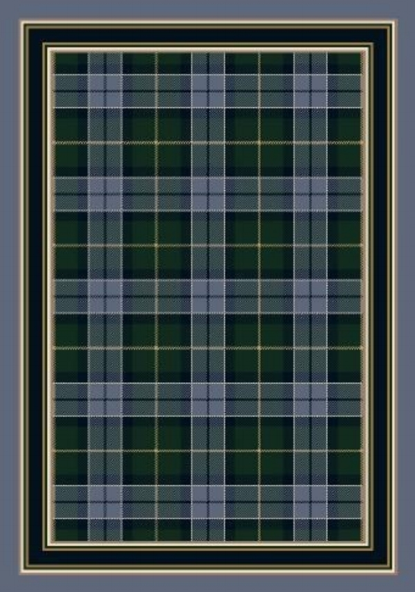 Magee Tartan Plaid Rug by Milliken at Rugs Direct