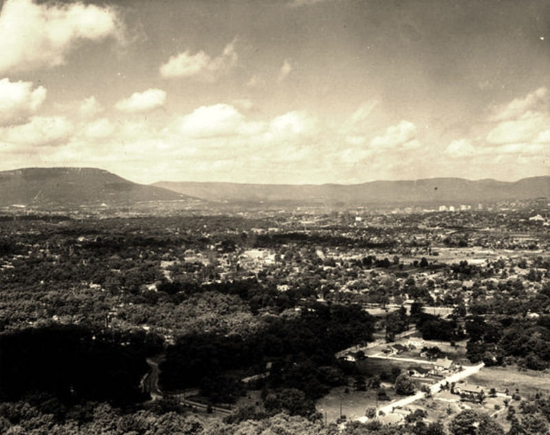Missionary Ridge view from Cameron Hill