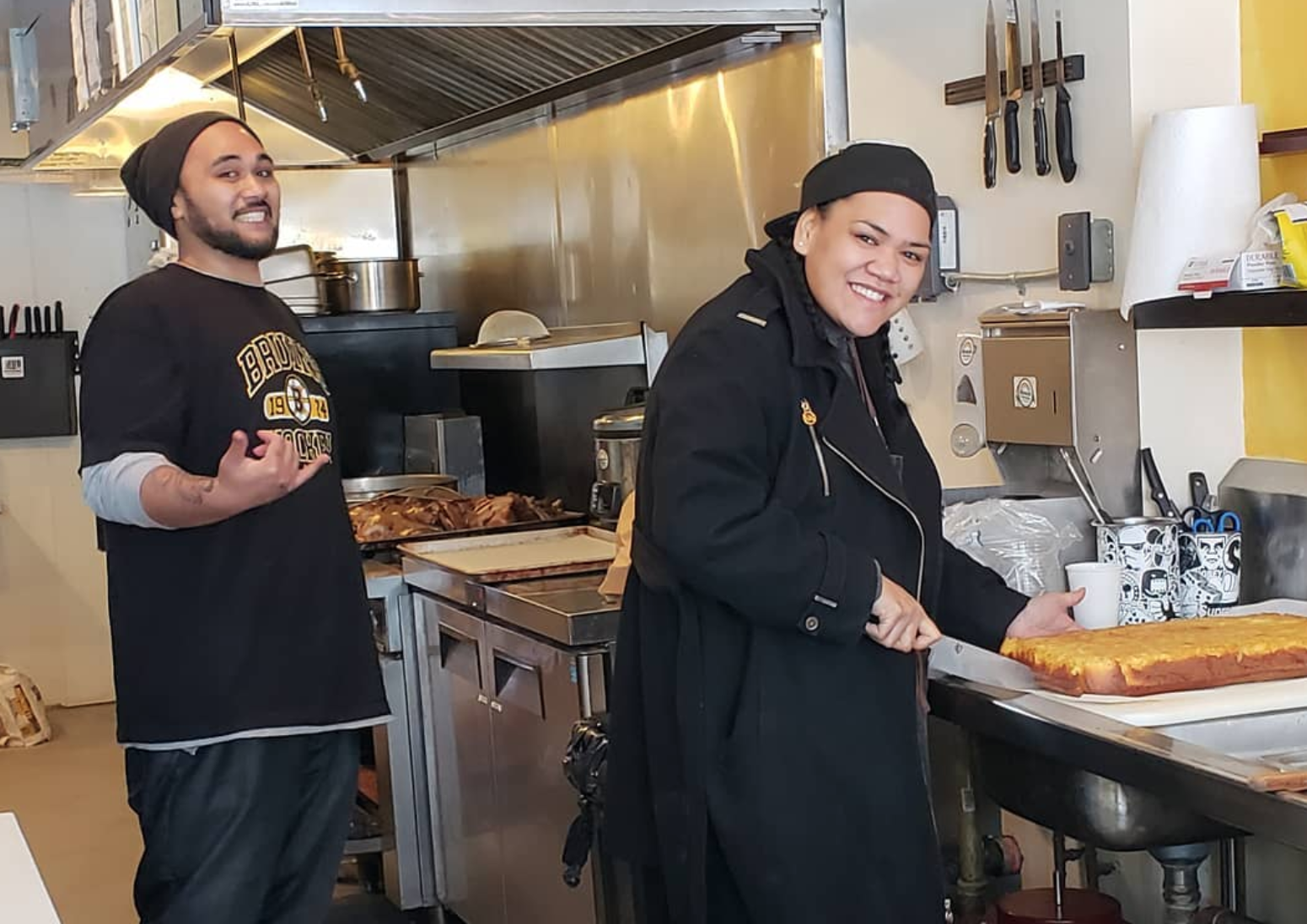 Oliver Mahn and Devynne Fuga, Manoa Poke Shop