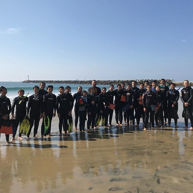 Los Al High School Snorkeling Trip  #goodtimes #scuba4life #lovescubamike #scubamikeiscool #coronadelmar #stingrays #🐠🐟 #perfectweather #blurrywater #scubamikewastheonlyonewhocouldreachthebottom #antifogisthebestthing