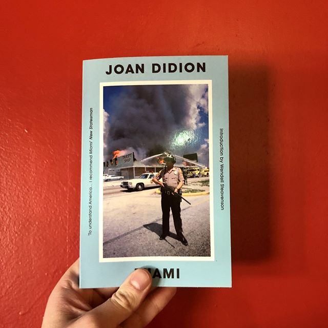 A contrasting view on Miami, Florida with Joan Didion. #Planetboks ⠀ ⠀ _______⠀ ⠀  #perthisok #perthlife #australia #perthfood #perthblogger #pertheats #westernaustralia #perthtodo #perthcity #love #melbourne #perthpop #sydney #perthsmallbusiness #perthfoodie #perthgirlboss #urbanlistperth #fitness #shopping #perthgram #brisbane #perthstagram #food #thisiswa #perthevents #perthcafe #supportlocal #healthy #perthcreatives