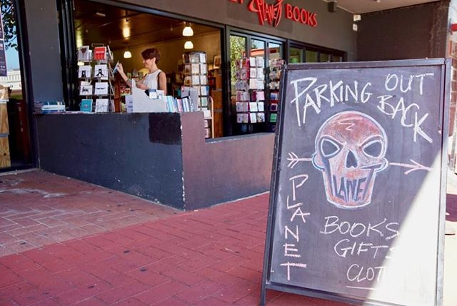 Attention Planet goers! We got parking out the back at the Mount Lawley store for you all. #planetbooks
