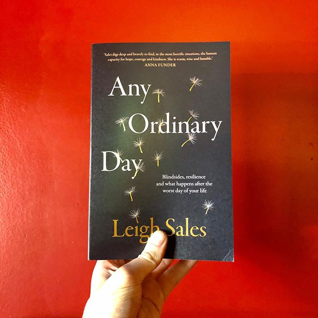 Leigh Sales explores-with great clarity and intelligence-how tragedy and loss can affect people. In doing so, she confronts some of the most profound questions about being human. #planetbooks
