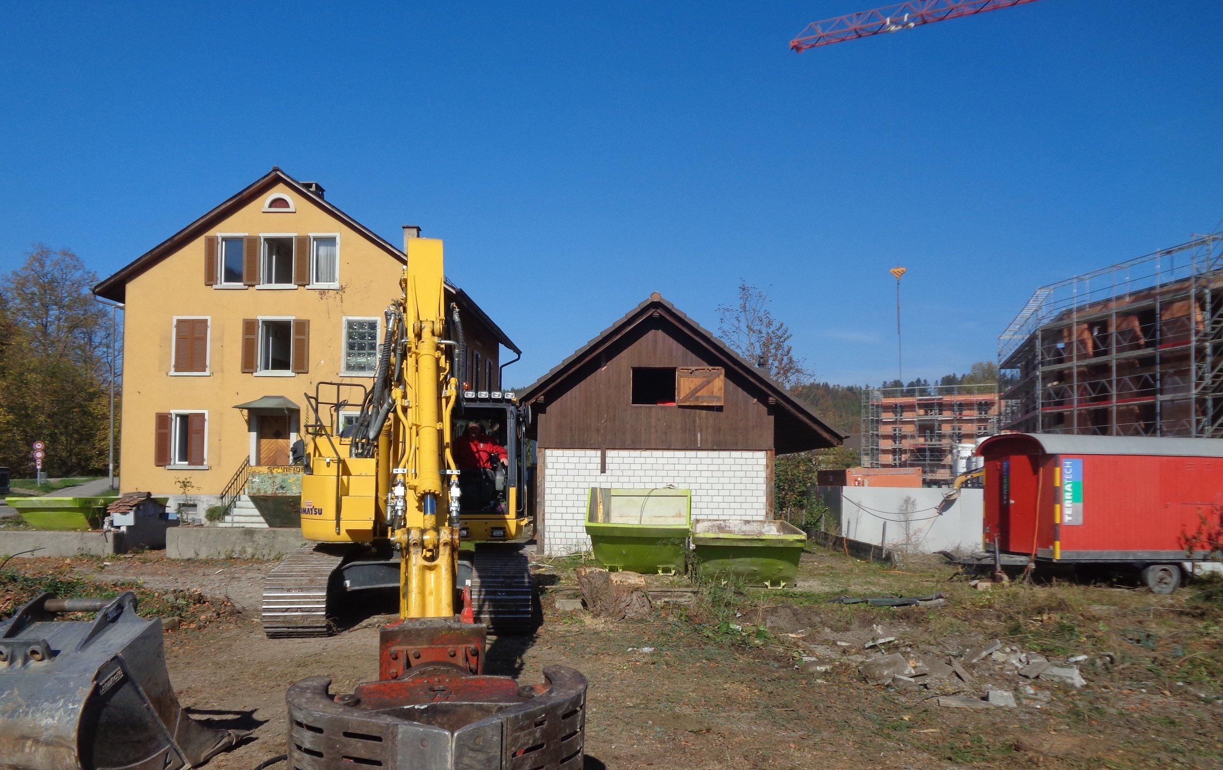 Immobilienverkauf und Immobilienvermarktung mit Video von Häuser sowie Wohnungen und Neubauprojekte Immobilienmakler in Zug und Zürich Überbauung Nido Sennhof Winterthur Baustelle Baustart erfolgt