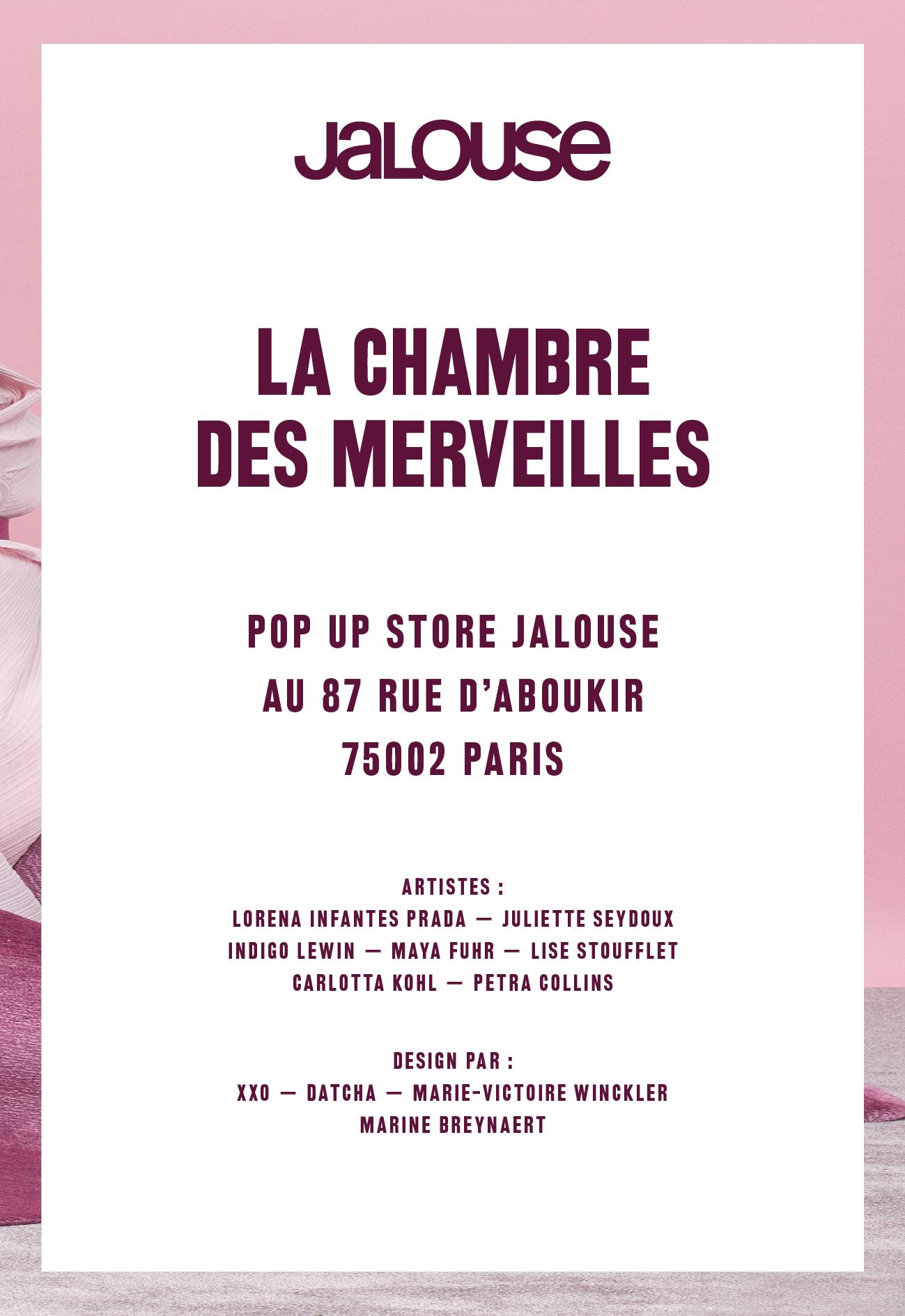 Datcha - Chambre des merveilles Jalouse Paris