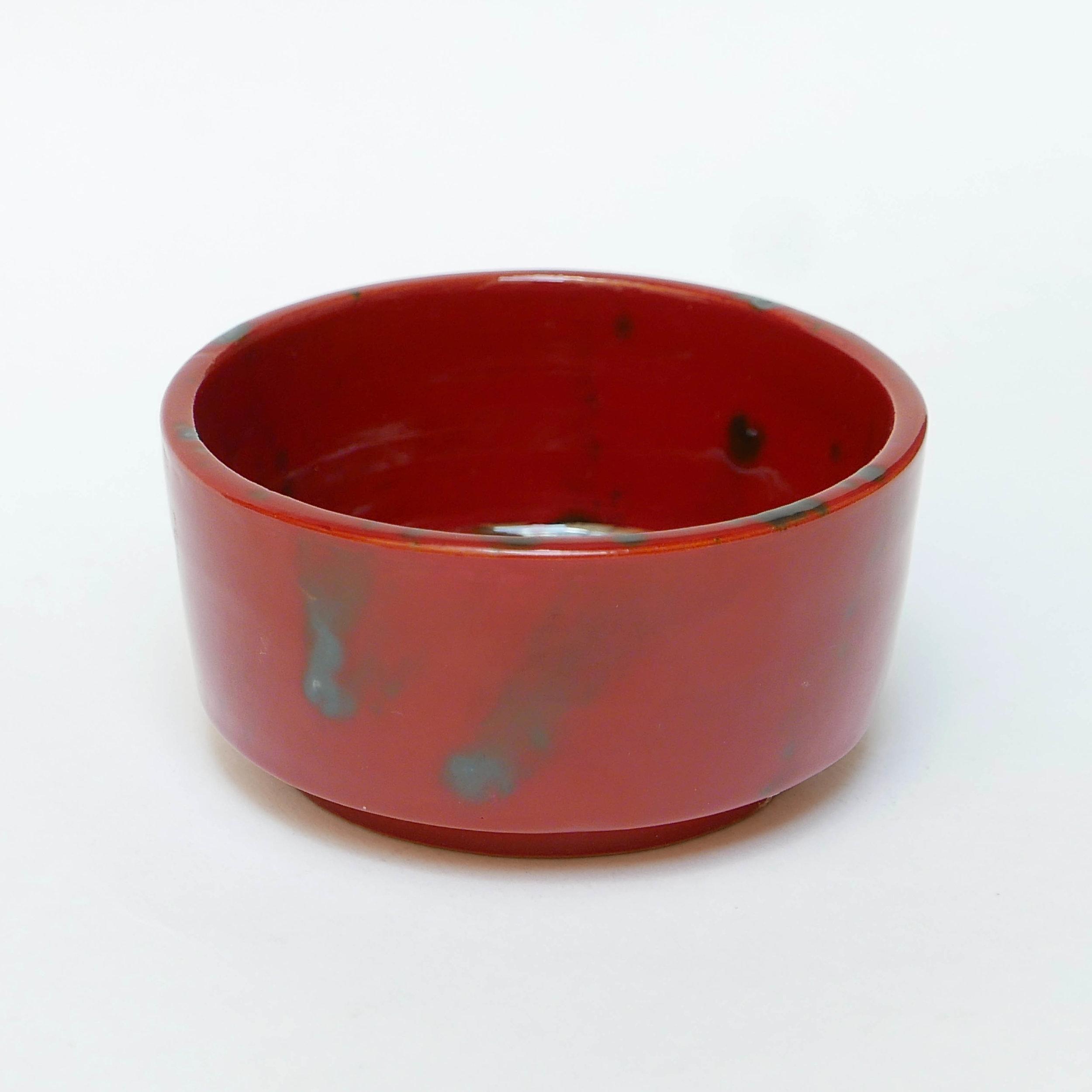 10€ - Petit bol Ourika (rouge) en céramique. Datcha