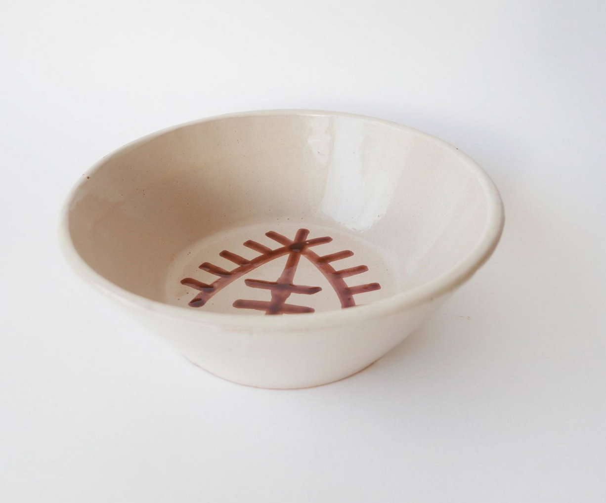 15€ - Bol avec dessin berbère en céramique. Datcha