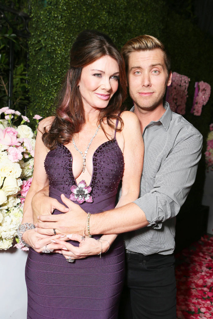 lisa vanderpump lance bass