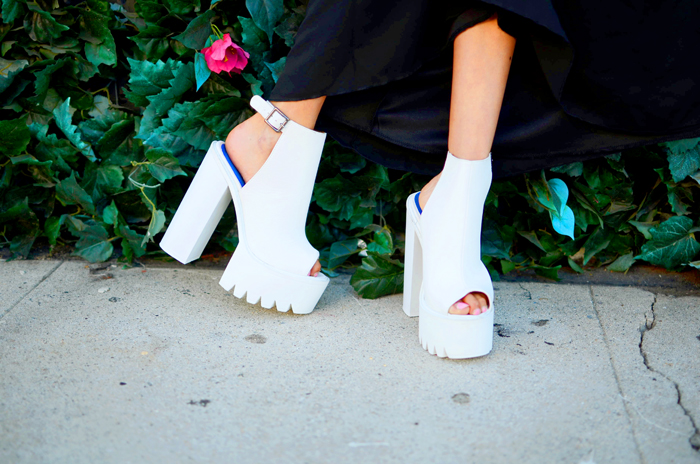 cut out booties