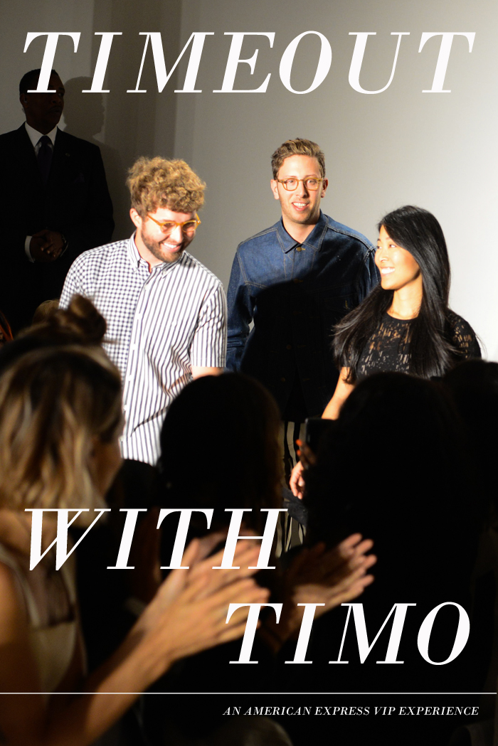 TIMO WEILAND SS15 presented by MADE