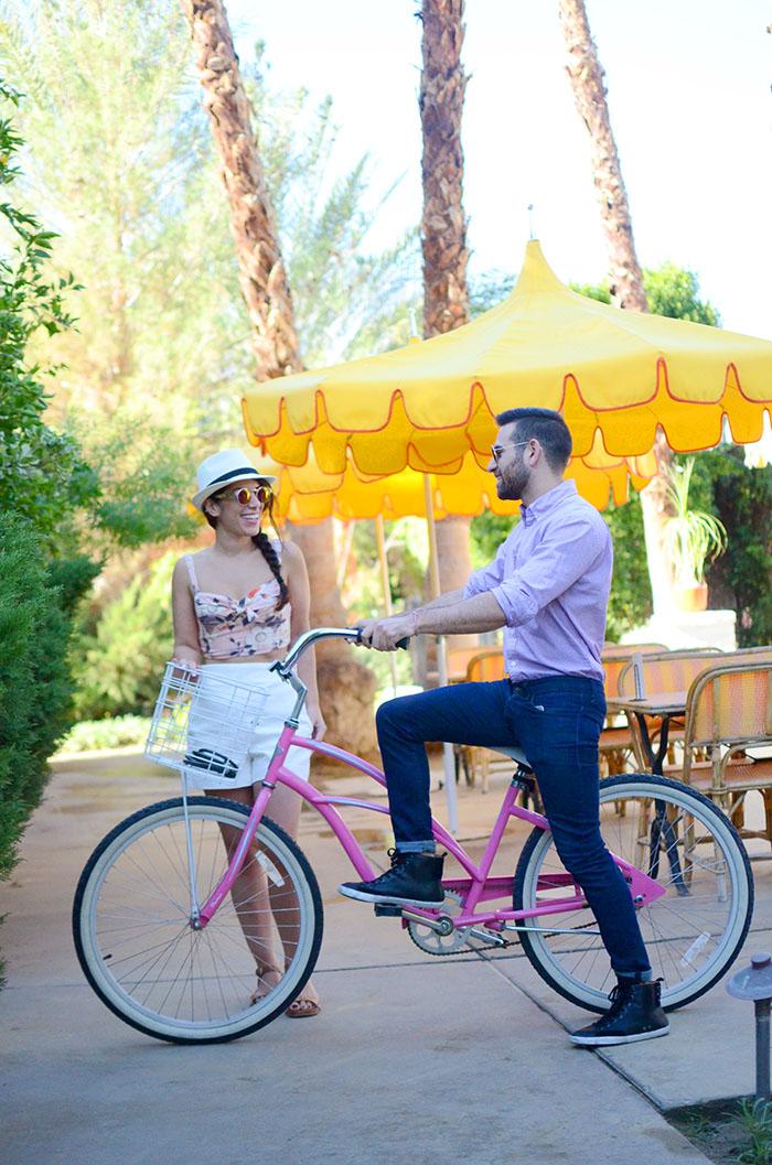 bike riding palm springs