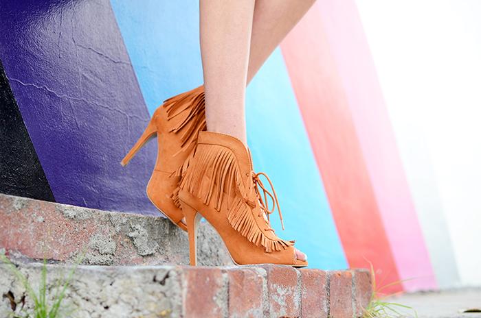 shoedazzle fringe shoes