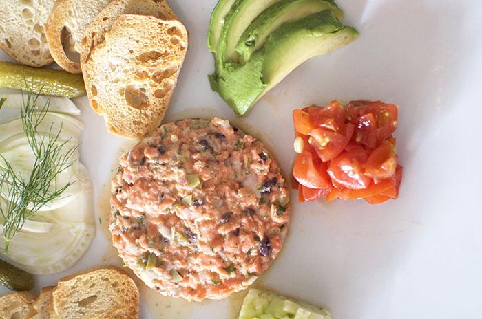 best salmon tartar