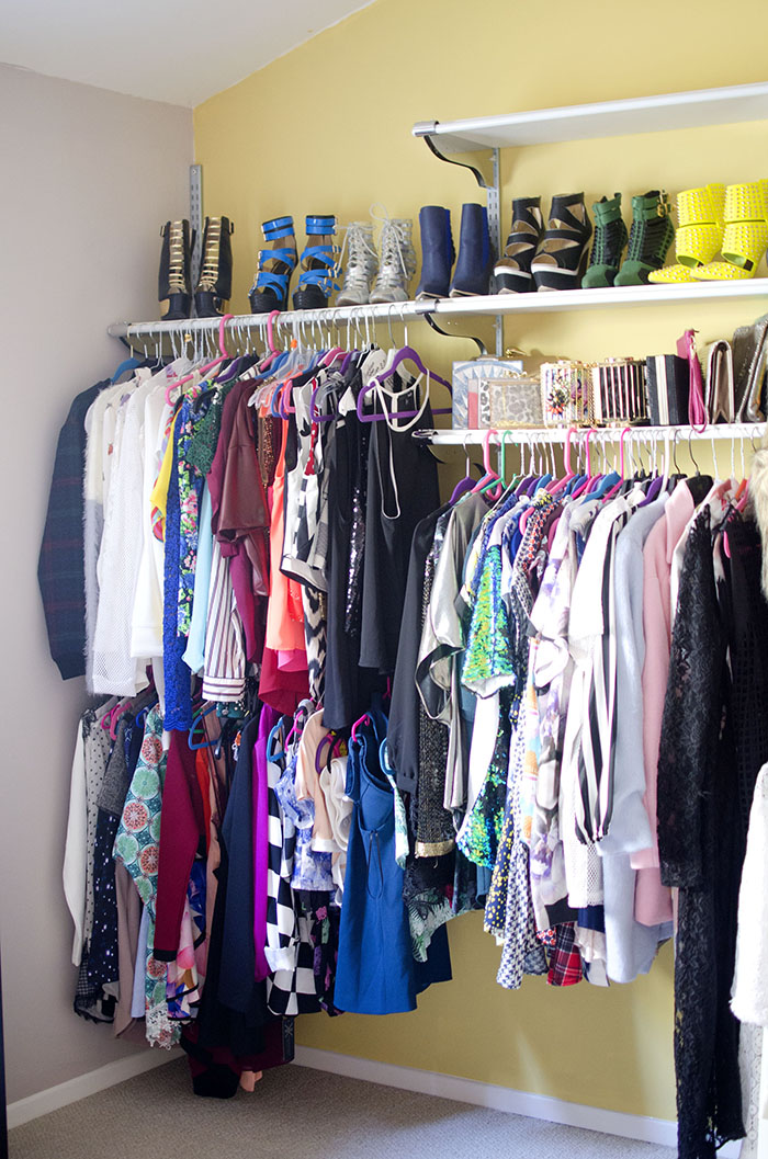 fashion blogger closet
