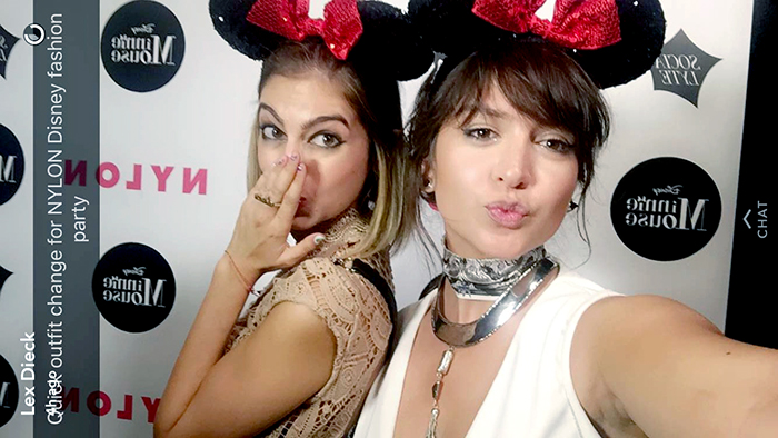 nylon minnie mouse party