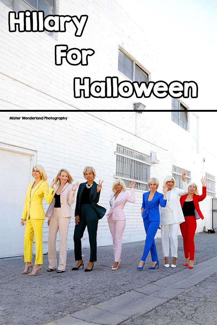 hillary clinton halloween costume