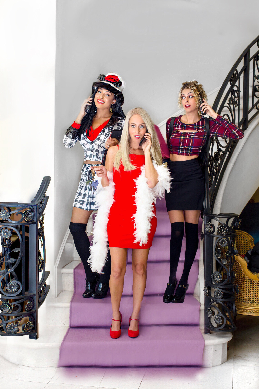 Hallomonth Clueless Group Costume Elaine Chaya