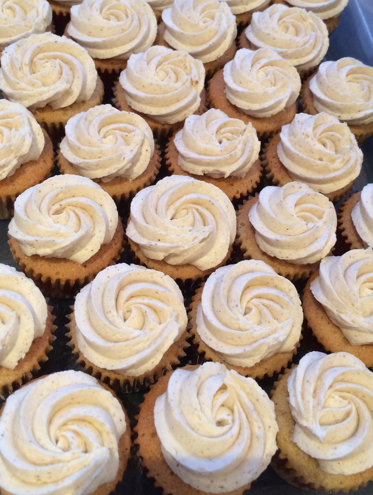 Massala Chai Buttercream Cupcakes