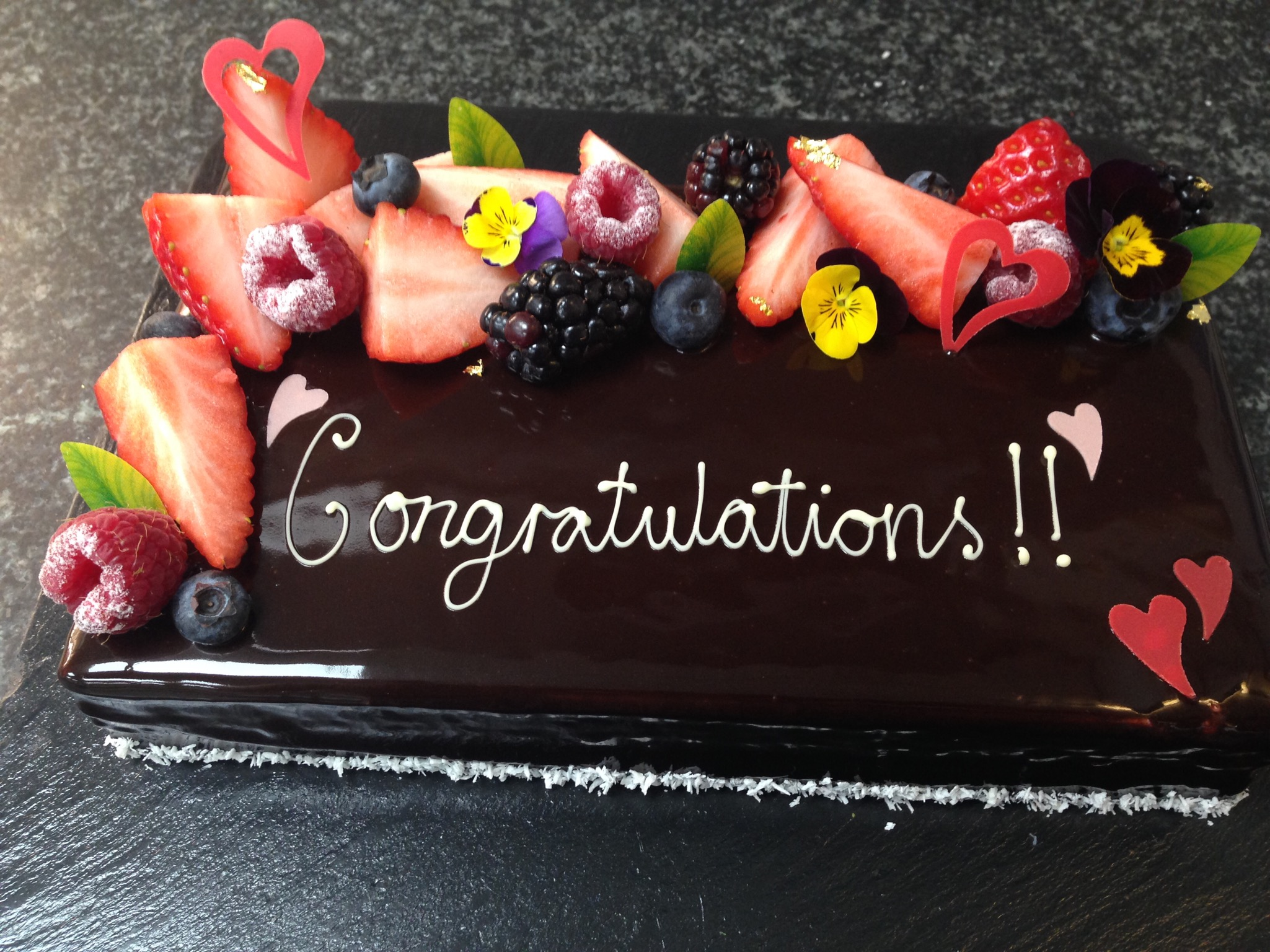 Chocolate Mousse Mirror-glaze Cake