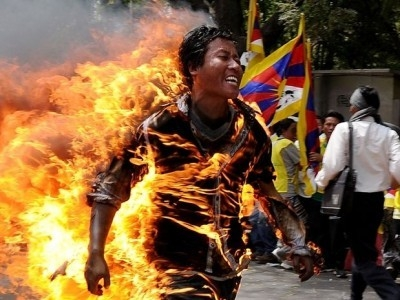 Jamphel Yeshi final letter - last paragraph -   If you have any empathy, stand up for the Tibetan people.      We demand freedom to practice our religion and culture. We demand freedom to use our language. We demand the same right as other people living elsewhere in the world. People of the world, stand up for Tibet. Tibet belongs to Tibetans. Victory to Tibet!