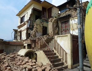 A strong 6.8-magnitude earthquake hit northeast India on 18 Sep 2011 in the small, landlocked Himalayan state of Sikkim, which borders Nepal, Bhutan and Tibet. The epicenter of the quake was 64 kilometer northwest of Gangtok. (WHO, 19 Sep 2011)
