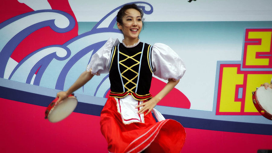 Austrian Folk Dance : 奧地利傳統舞蹈