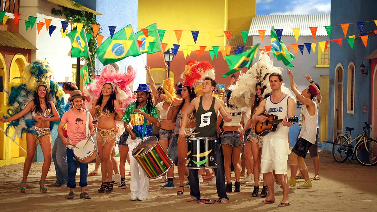 Brazilian Samba Band : 巴西森巴樂團