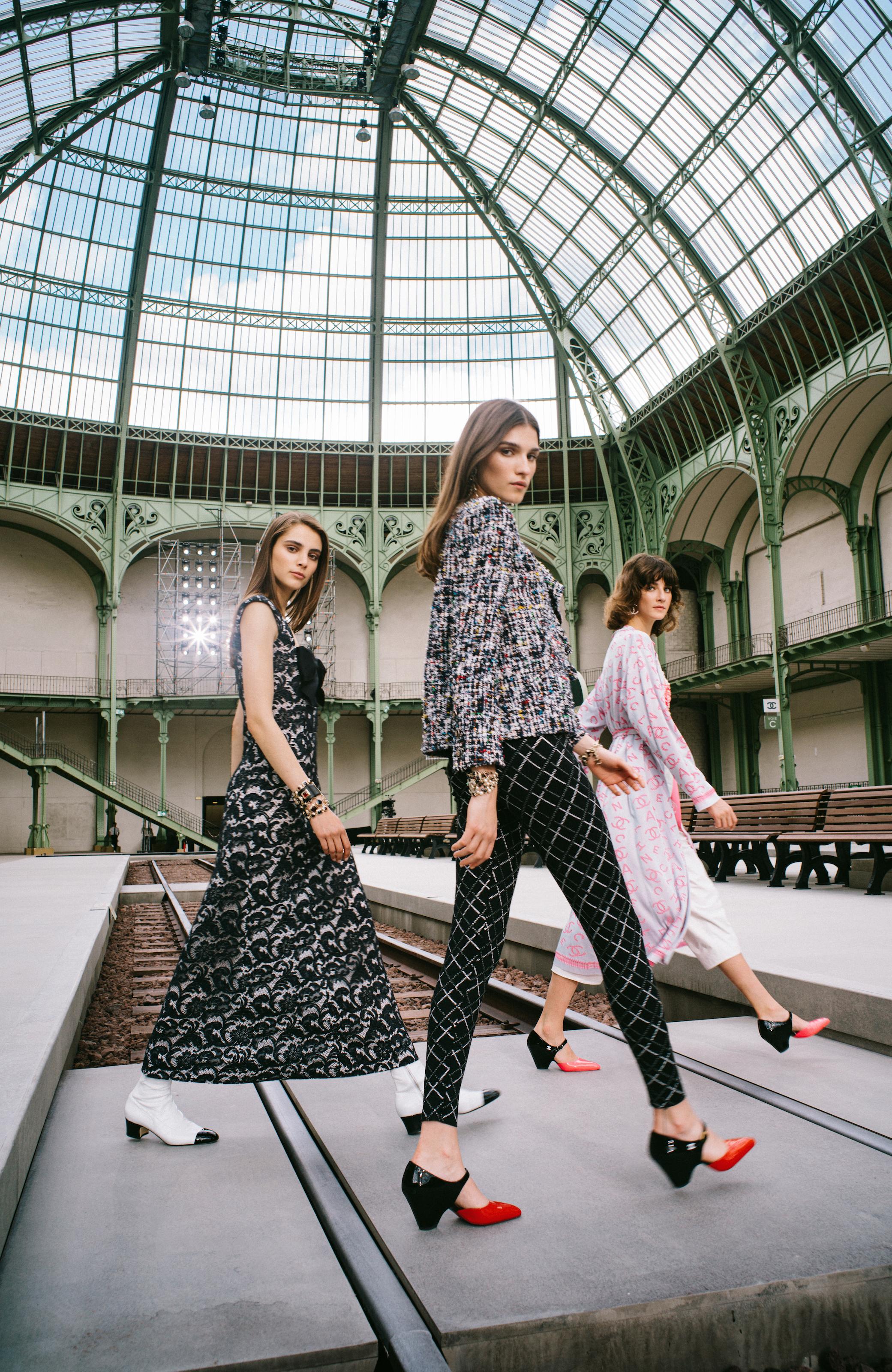 Romy, Irina & Cris / CHANEL Story / Harper's Bazaar HK, 2019