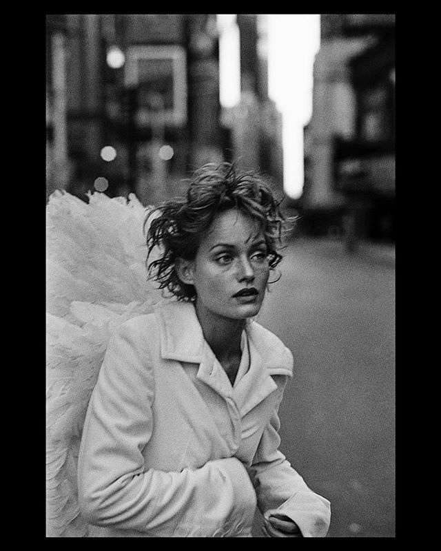 "Incredibly sad to learn the passing of one of the greatest fashion photographers Peter Lindbergh this morning. @therealpeterlindbergh An absolute legend who created countless iconic fashion images over the years. This fashion story titled ""Angel"" of @ambervalletta shot in New York City in 1993 for Harper's Bazaar is undoubtedly one of my all time favourites. RIP Peter Lindbergh. You will be missed.  #PeterLindbergh"