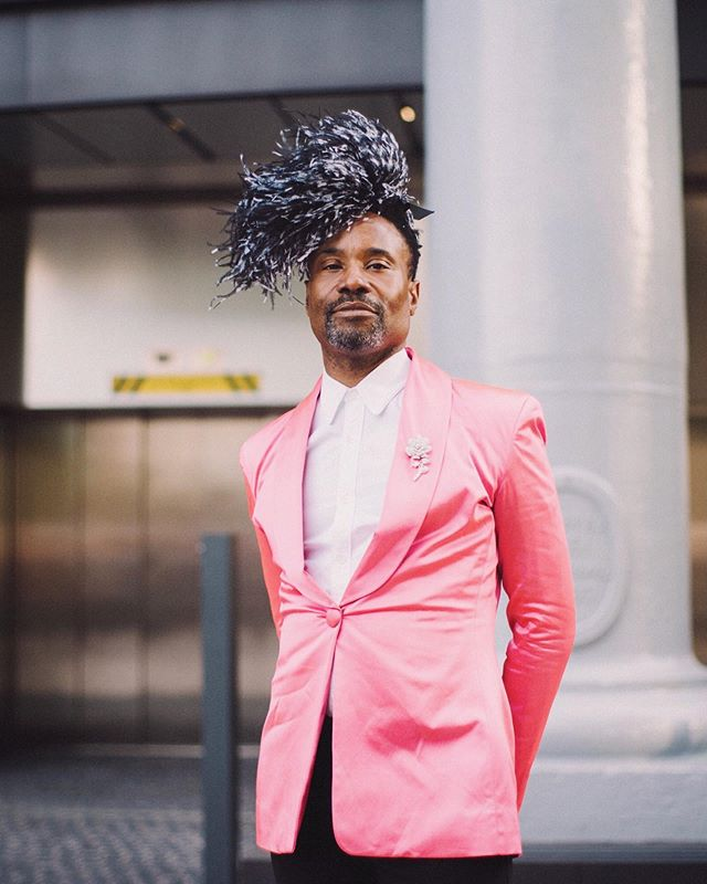@theebillyporter taking over London Fashion Week. Shot for @harpersbazaarsg #billyporter