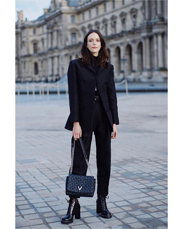 @_StacyMartin @LouisVuitton Photographed for @harpersbazaarsg. #LouisVuitton #LVSS20 #StacyMartin