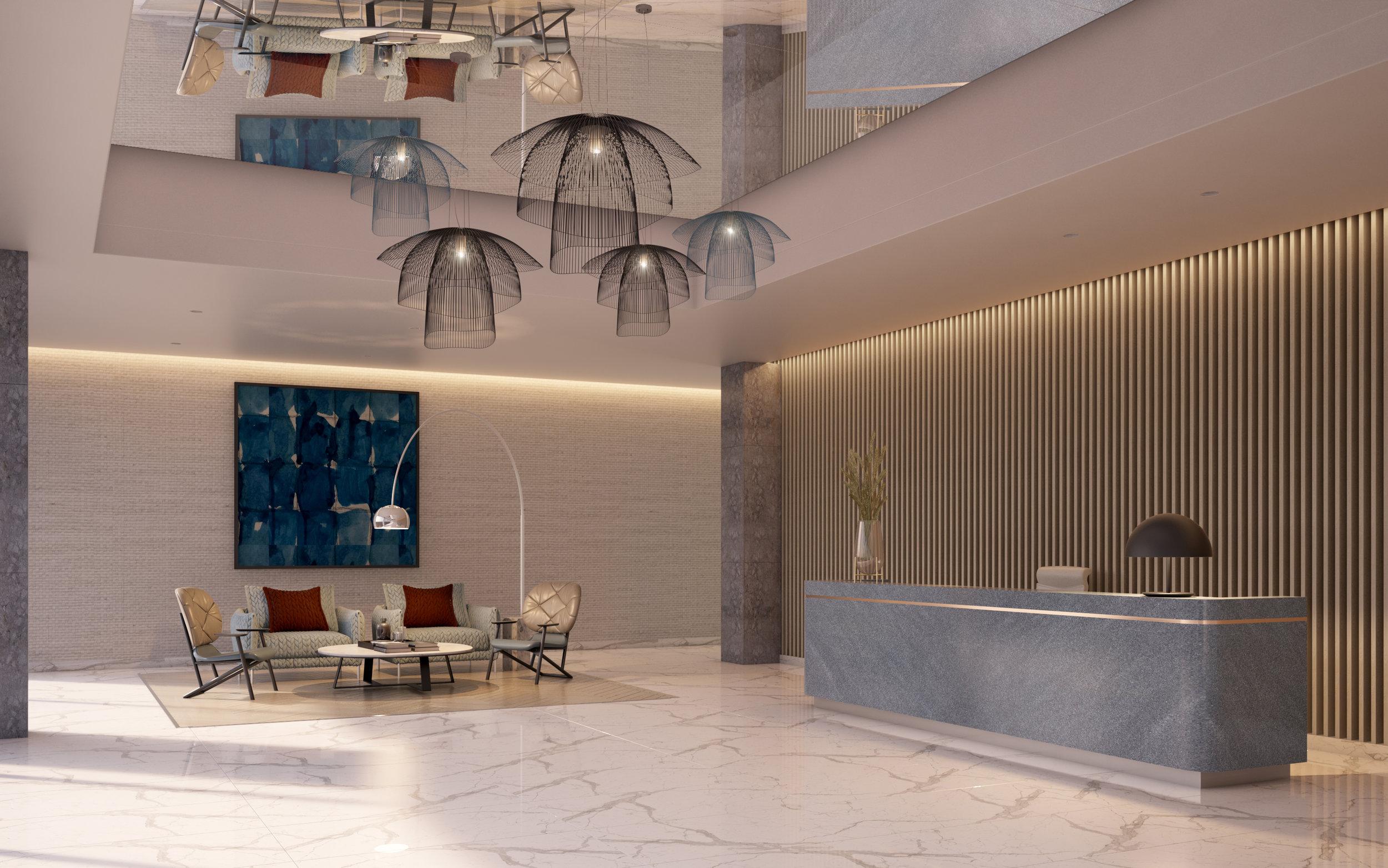 Building 1: Entrance Lobby