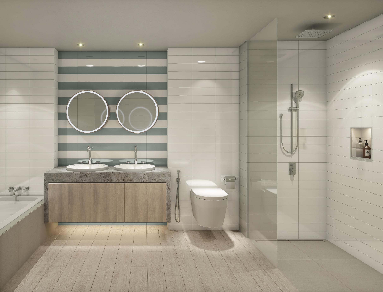Blue Scheme: Master Bathroom