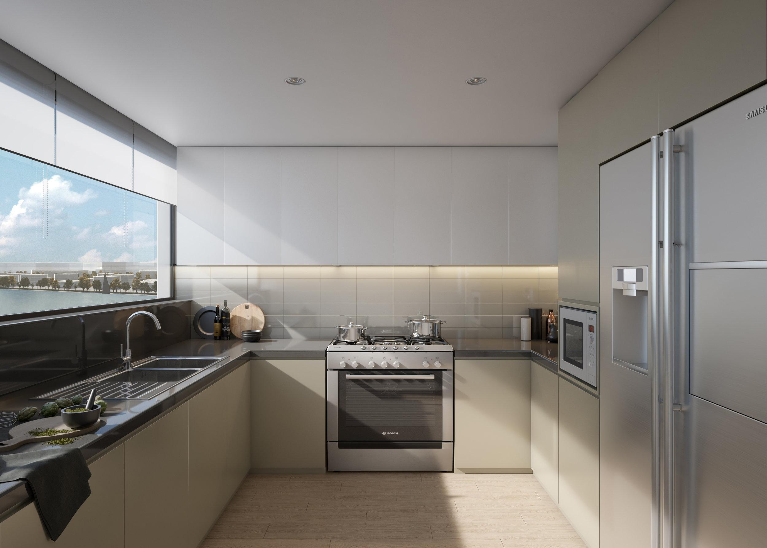 Green Scheme: Kitchen