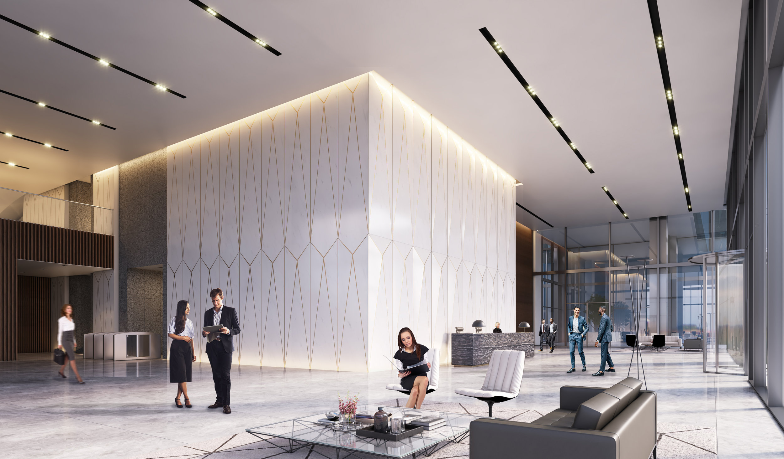 Emirates Towers District: Offices, Dubai