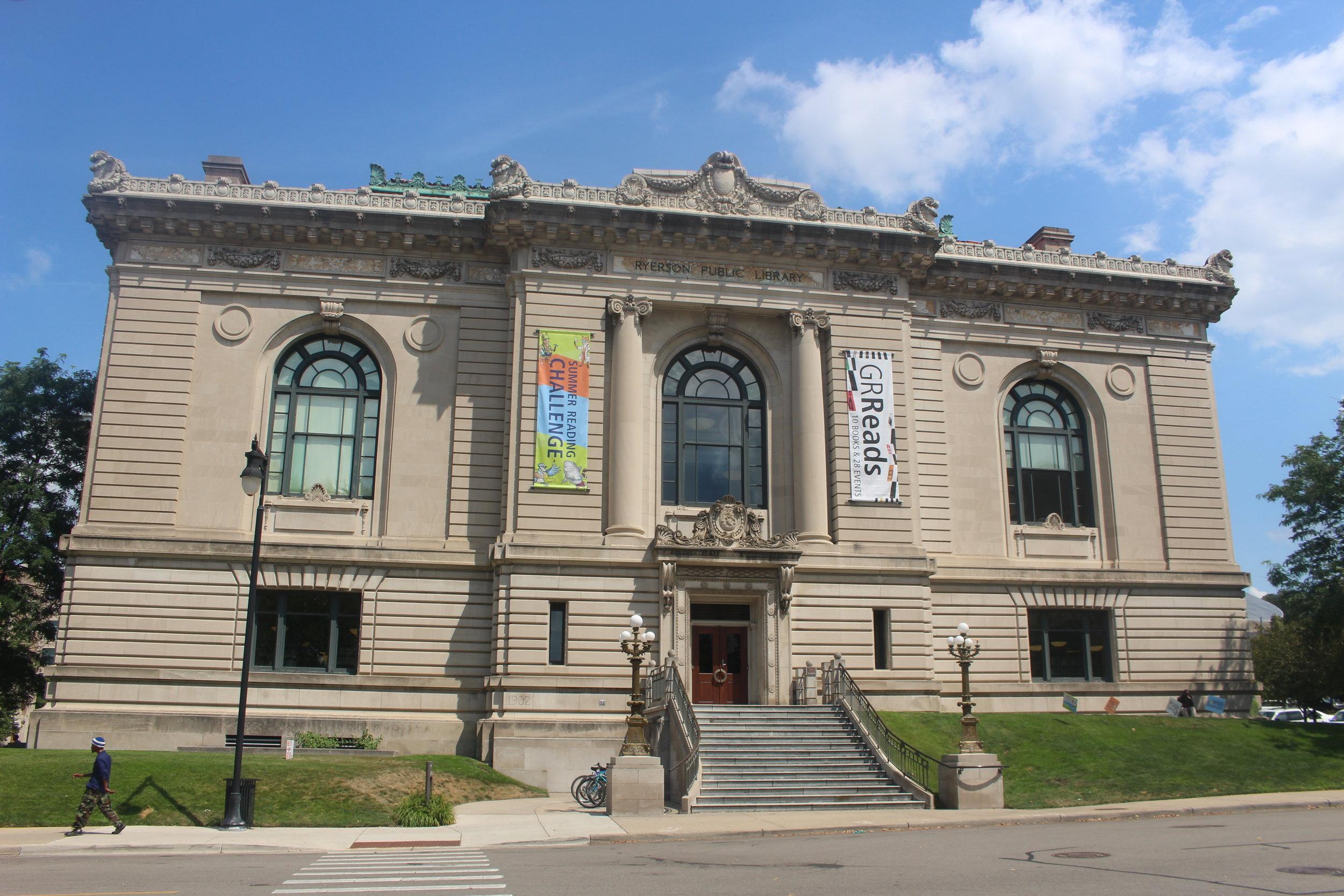111 LIBRARY STREET NE | RYERSON LIBRARY, GRAND RAPIDS PUBLIC LIBRARY