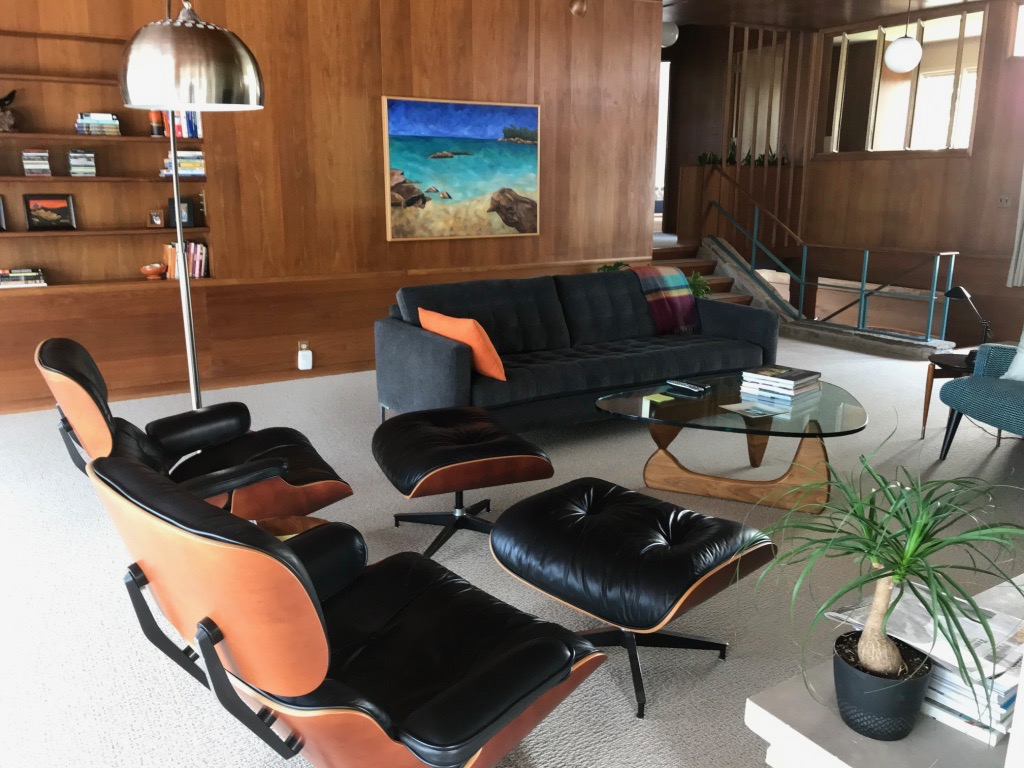 ICONIC MODERN FURNITURE AND PAINTING