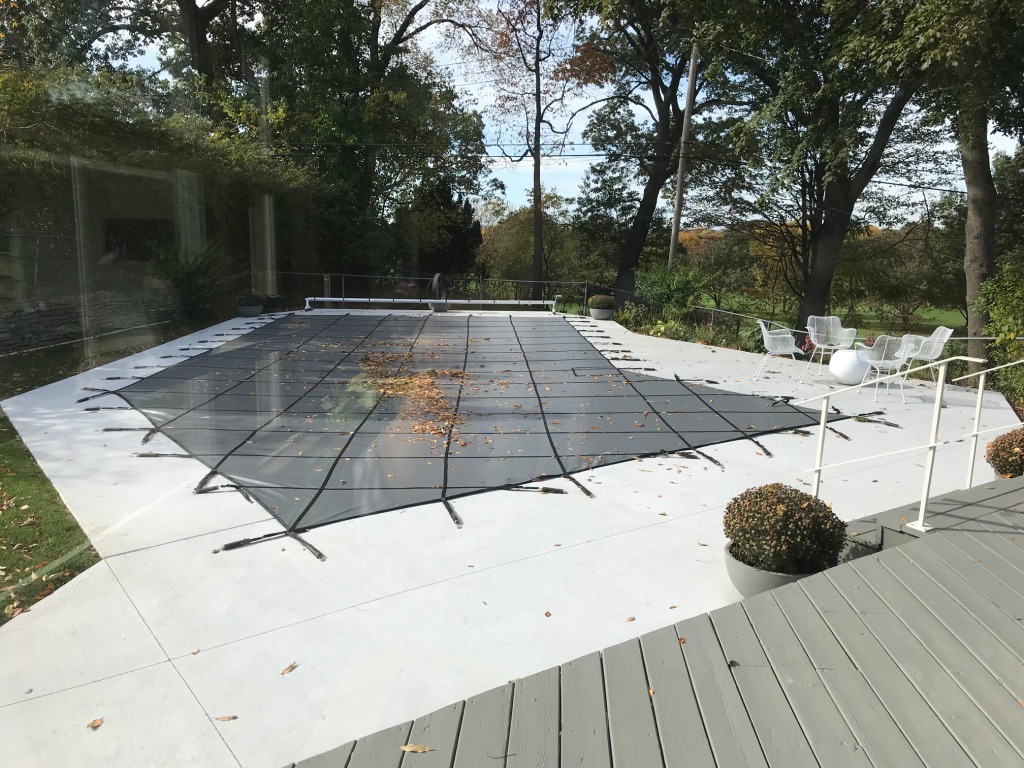 LAZY L POOL WITH COVER