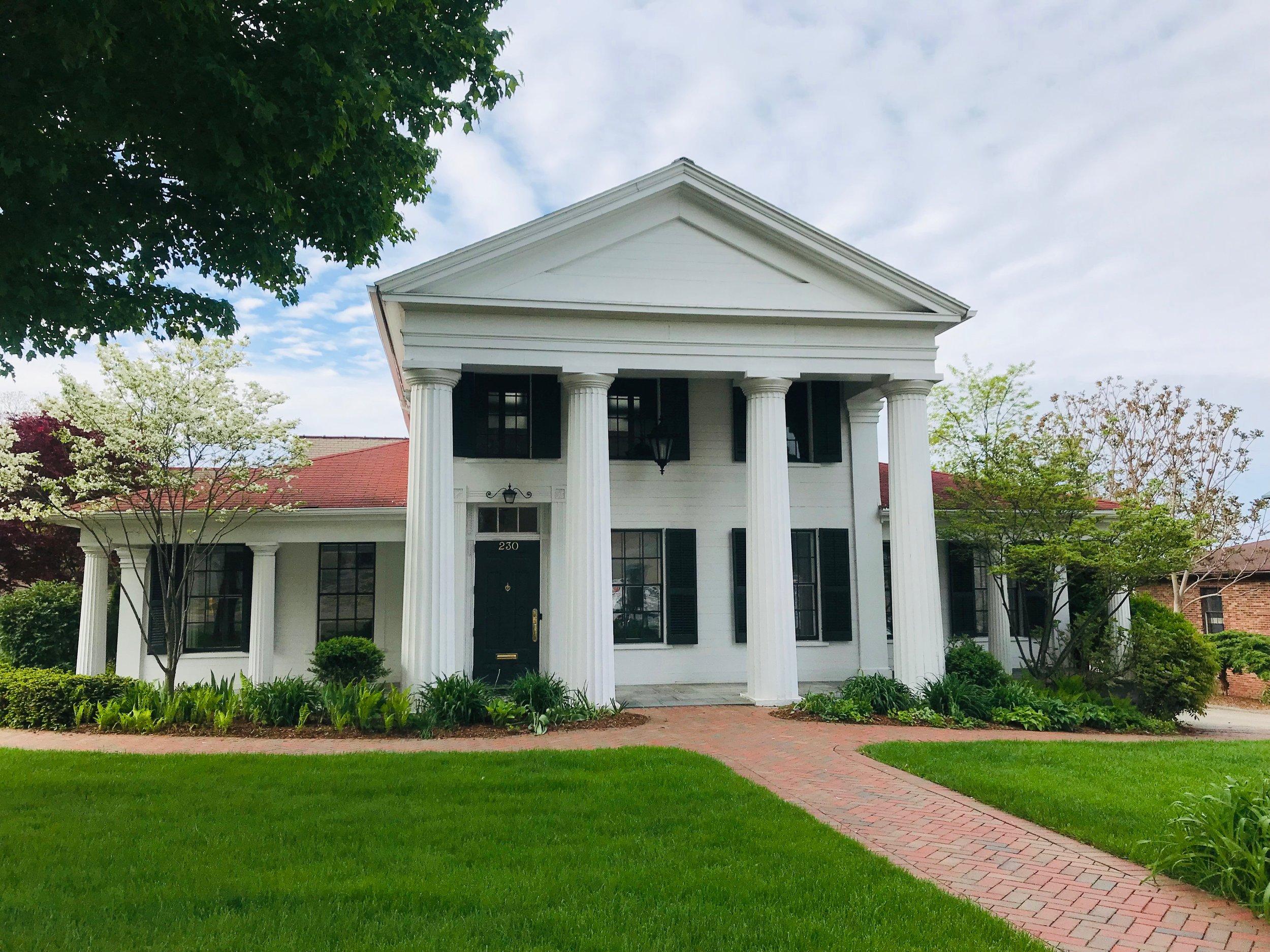 ABRAM PIKE HOUSE