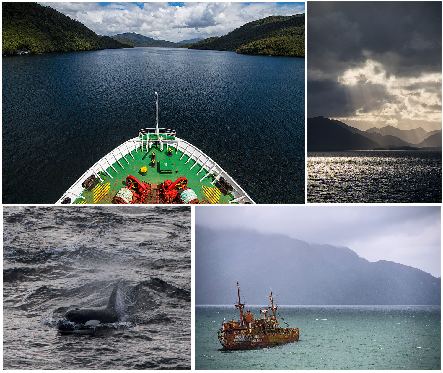 some impressions from our ferry ride with Navimag