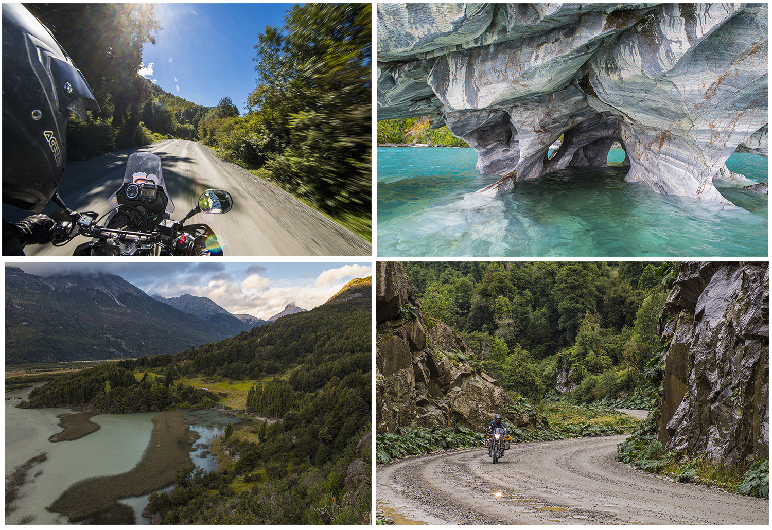 impressions from the road and the marble caves