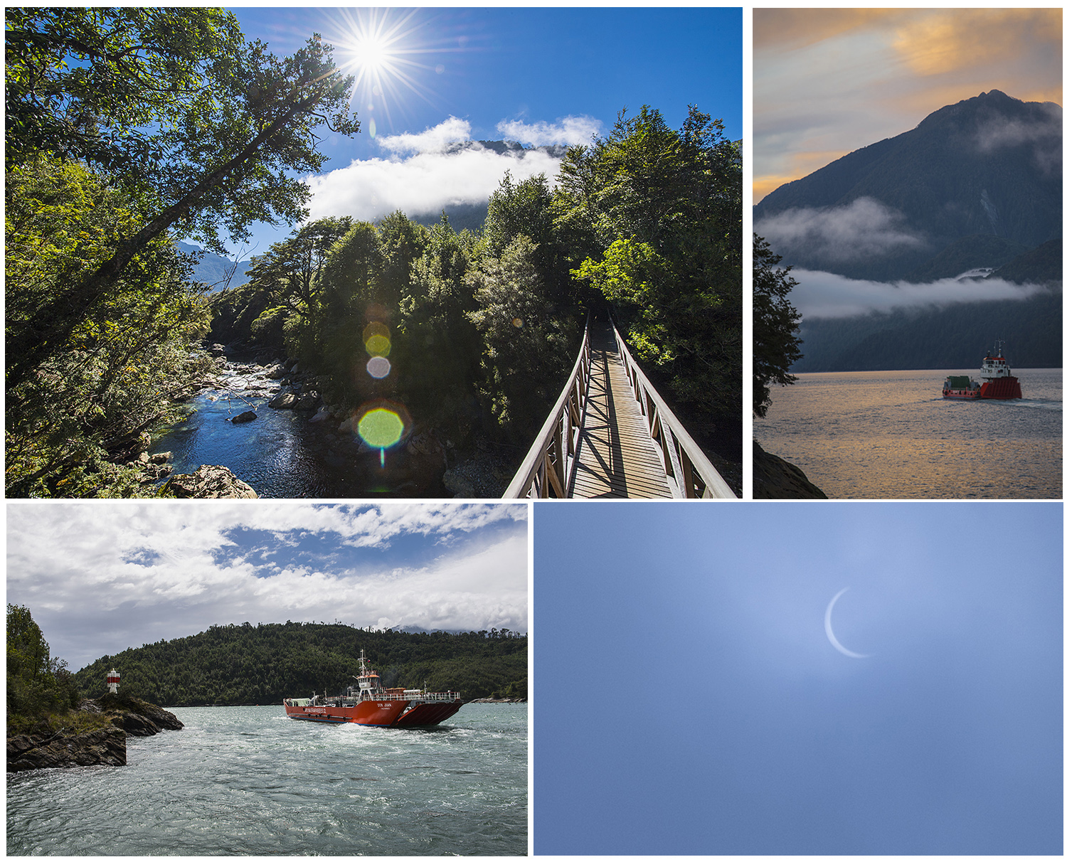 "the ferries and our ""surprise"" solar eclipse"